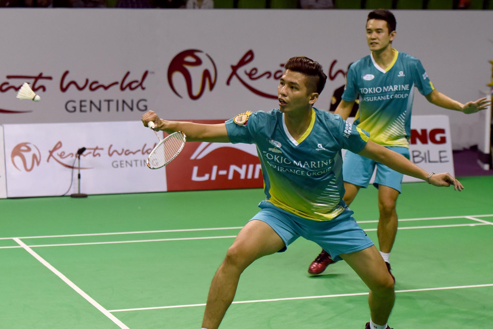 Resorts World Genting Champions Challenge - Muar City Badminton Club - Mens Double - Chow Pak Chuu & Tan Bin Shen. Photo Credit - www.1titan.com