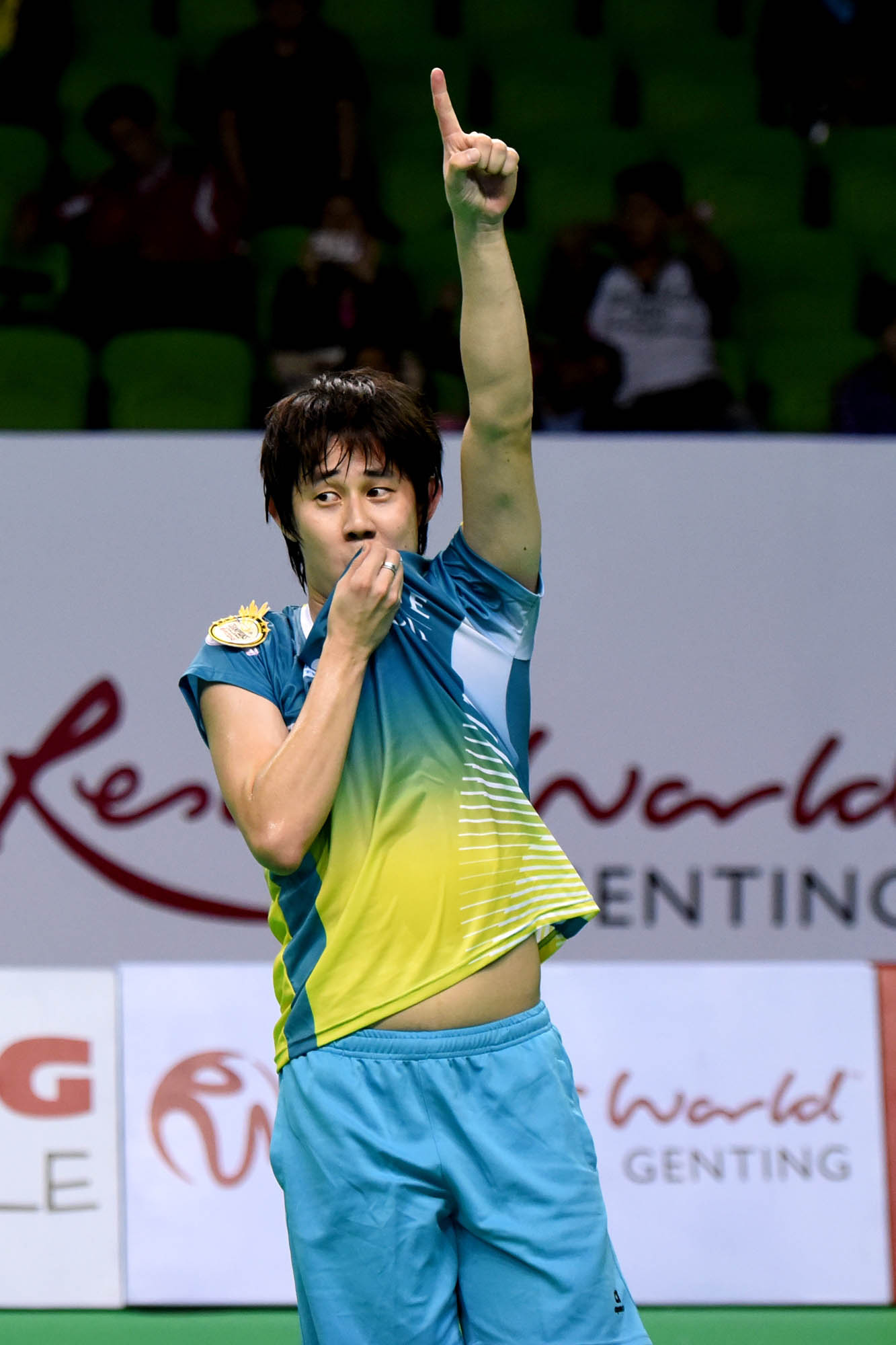 Resorts World Genting Champions Challenge - Muar City Badminton Club - Mens Single - Tan Chun Seang. Photo Credit - www.1titan.com