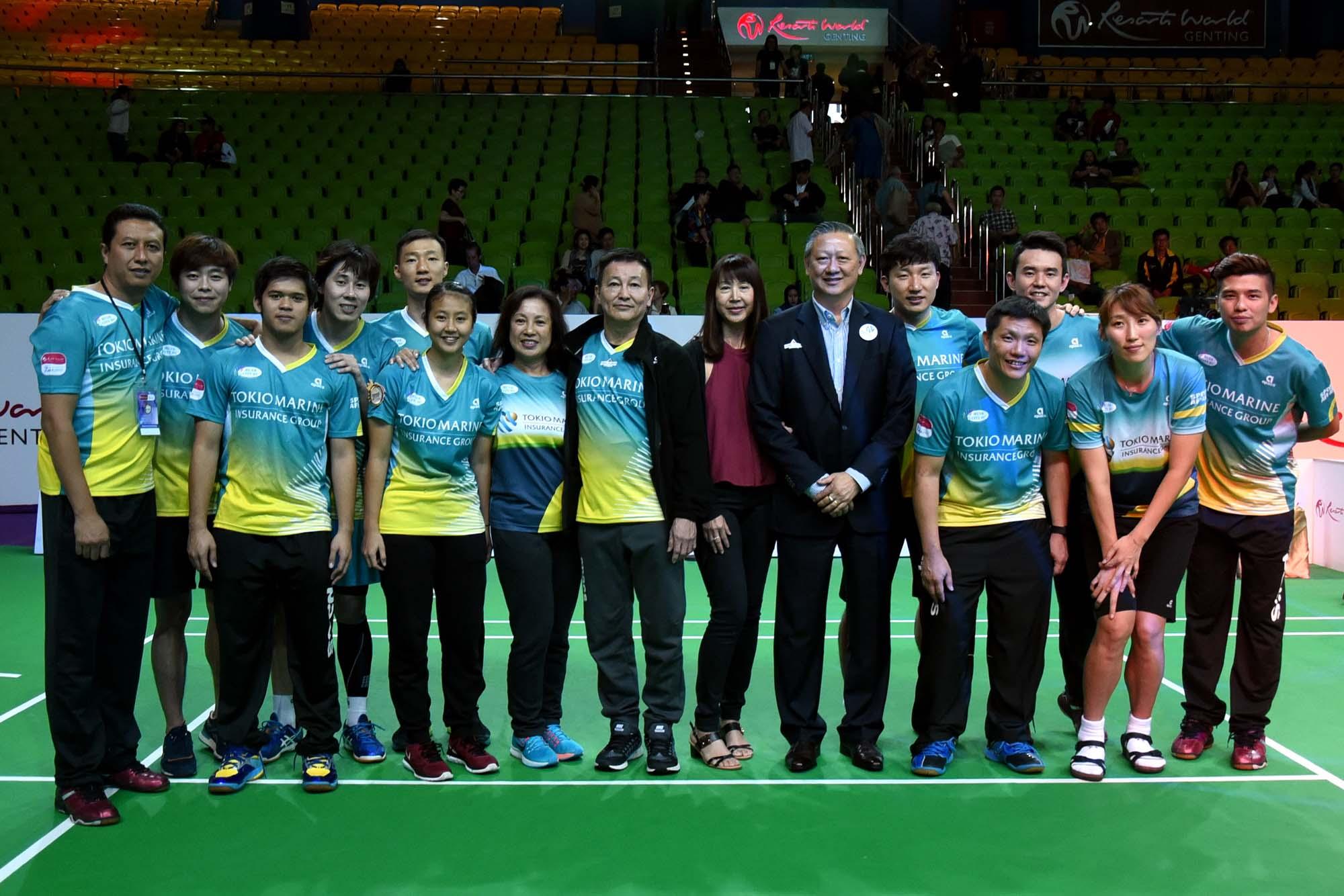 Resorts World Genting Champions Challenge - Muar City Badminton Club - Team lineup. Photo Credit - www.1titan.com