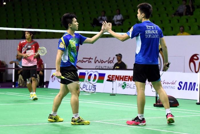 Ooi Zi Heng/Soh Wooi Yik kemudiannya mengukuhkan cengkaman Serdang setelah menang 3-1 dalam acara beregu lelaki
