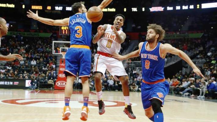 Knicks beat Hawks