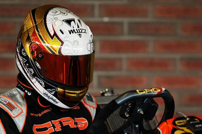 Muizz looks to the brilliance of world champion Danilo Rossi