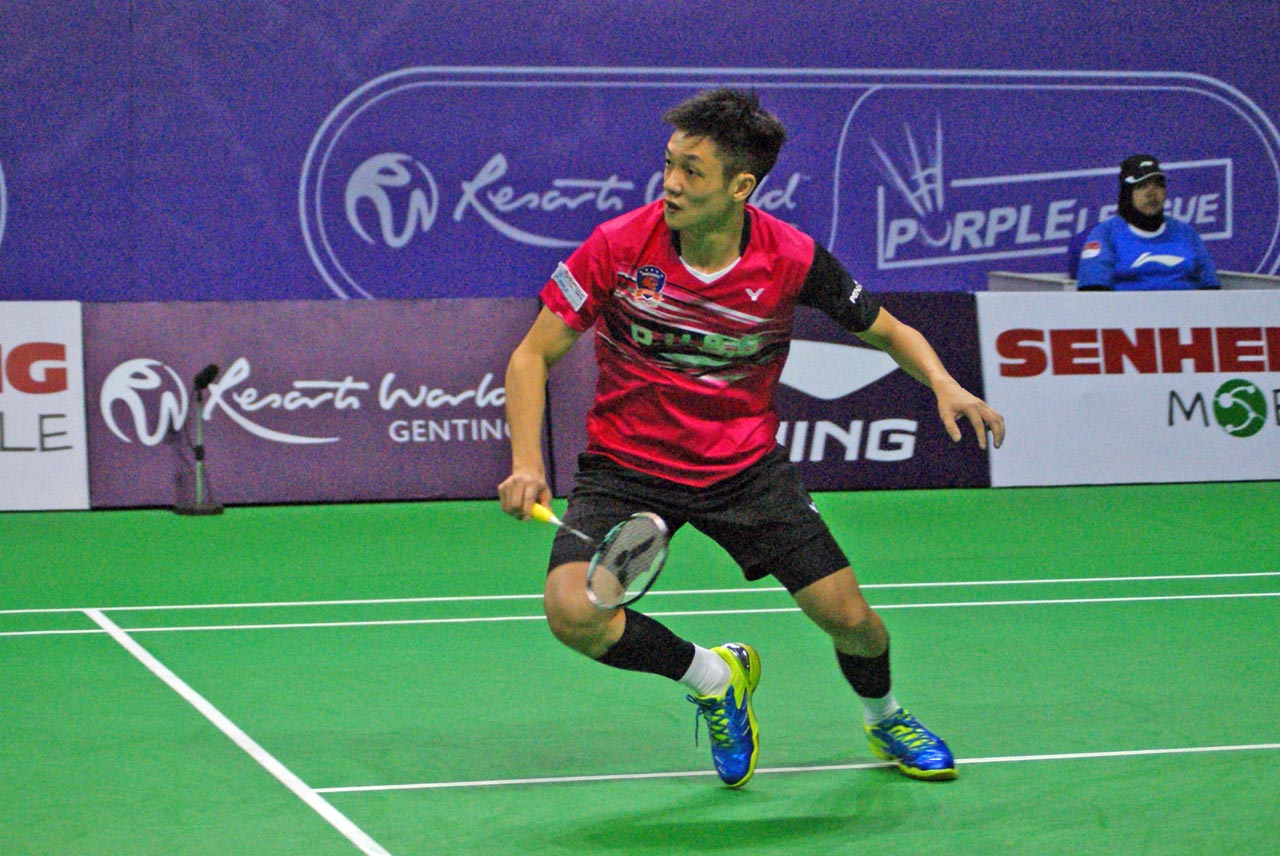 Resorts World Genting Purple League - Puchong United BC(red)-Liew Daren-004