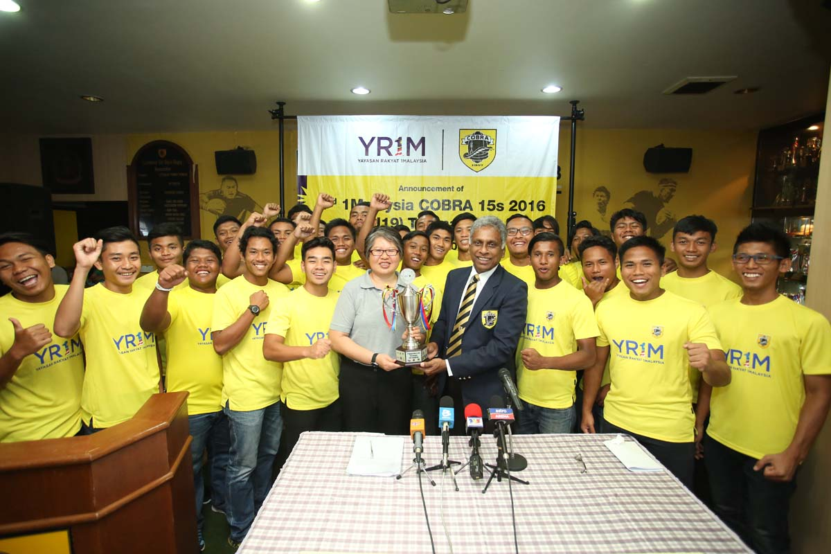 The 1Malaysia COBRA U-19s Rugby Tournament, is the highlight of rugby competition at the U-19s level and is part of the 1Malaysia COBRA Rugby Youth Development Programme that was launched in the third quarter of 2014.