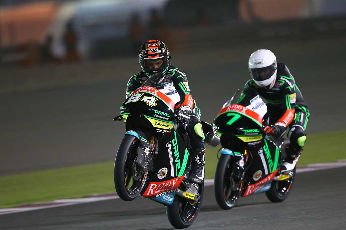 6th & 9th row start for the Drive M7 SIC Racing Team in Qatar