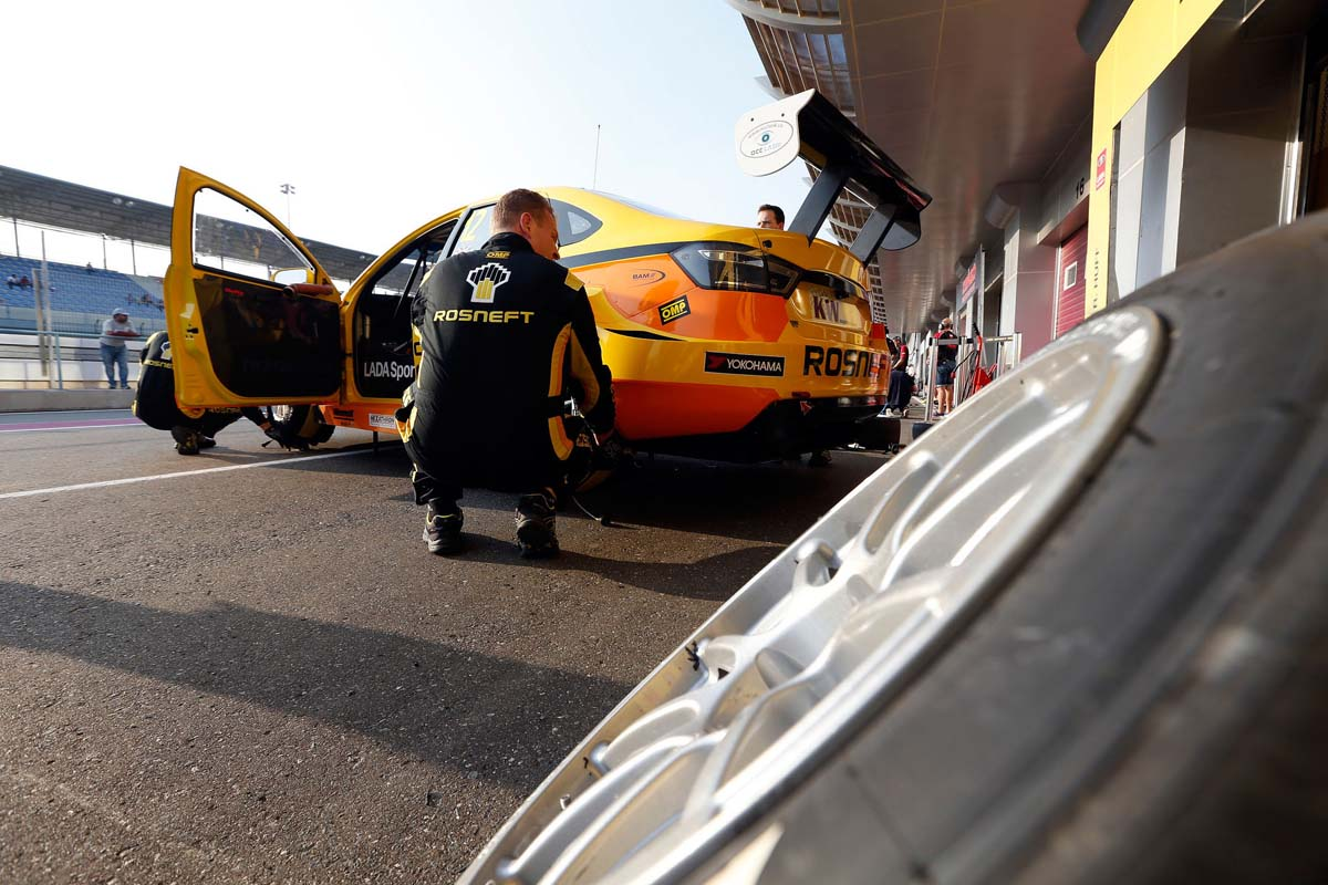Positive results for LADA SPORT ROSNEFT after Portugal pre-season testing.