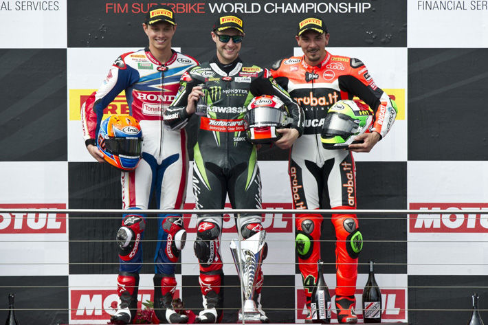 Honda WorldSBK Team One Better as Van Der Mark Second in Race Two