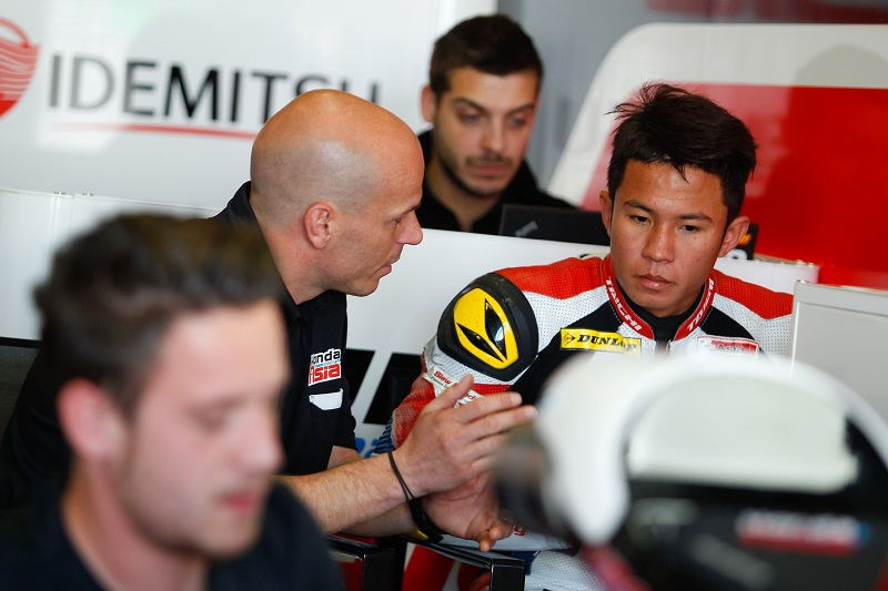 Maiden Voyage in Moto3 class for Honda Team Asia On board with Hiroki Ono & Khairul Idham Pawi