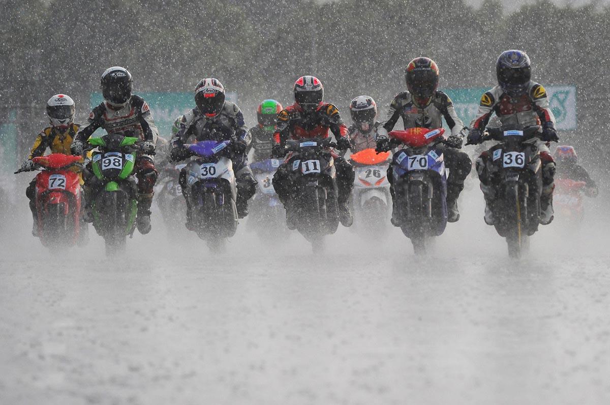Resilient motorsports ethusiasts persevere despite tough economic climate.