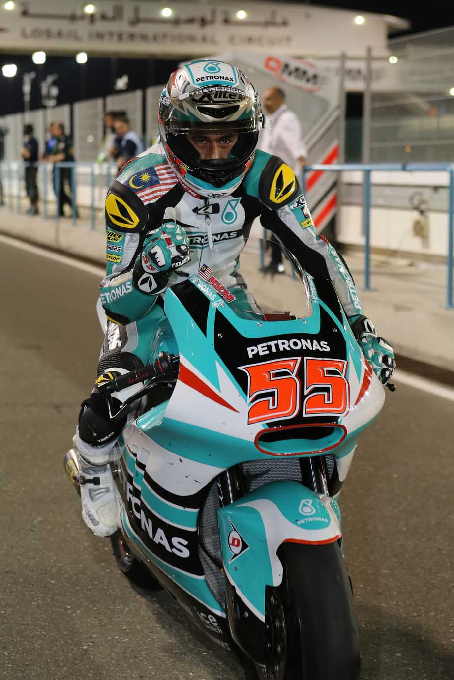 Hafizh Syahrin enjoyed a competitive start to the 2016 season onboard his Kalex as he overcame a challenging 20-lap Moto2 race and a numb hand to finish fourth, hauling 13 precious points at the Qatar Grand Prix on Sunday.