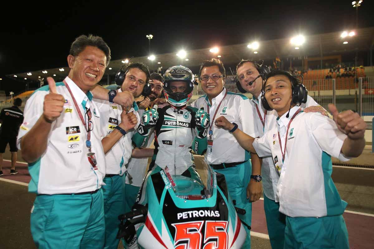 PETRONAS Raceline Malaysia in Qatar.