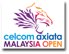 2016 celcom axiata Malaysia Open - logo