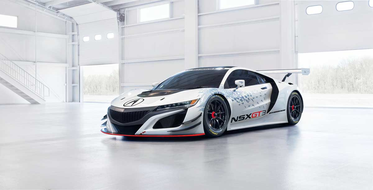 Acura Unveils NSX GT3 Racecar in New York-001