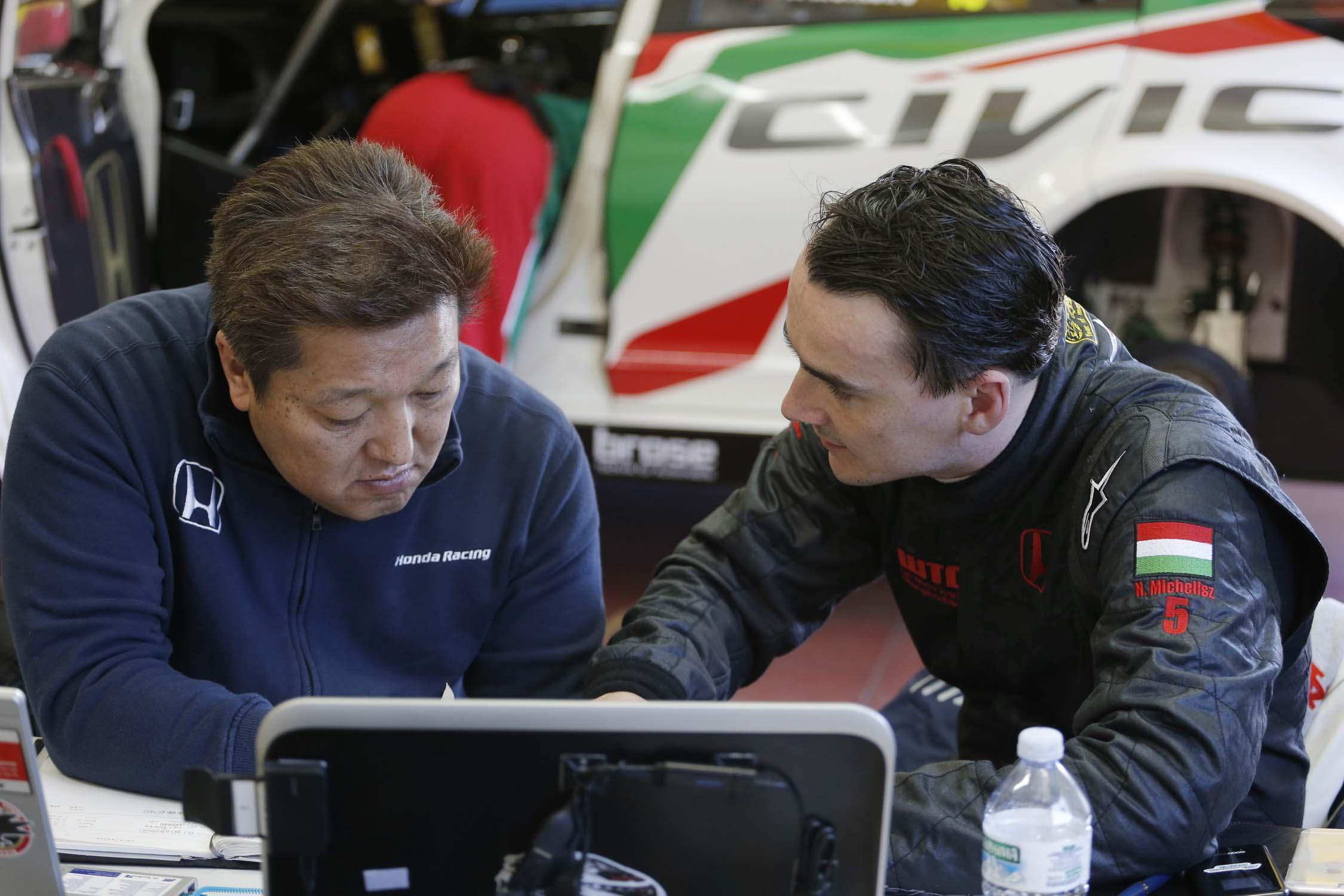 FIA World Touring Car Championship 20116 - Mehdi Bennani WTCC Test Day action image