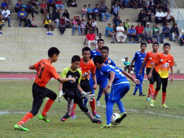 Liga KPM U14 - SSN Selangor (oren)vs SSTMI-0(biru)
