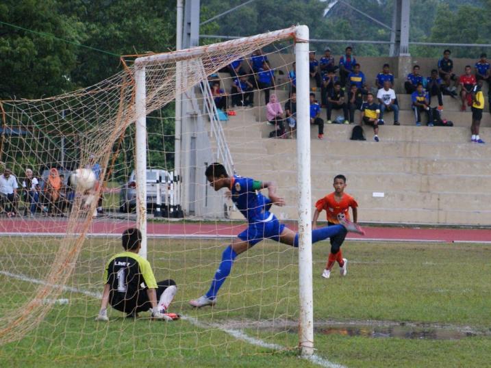 Liga KPM U14 - SSN Selangor (oren)vs SSTMI-(biru)