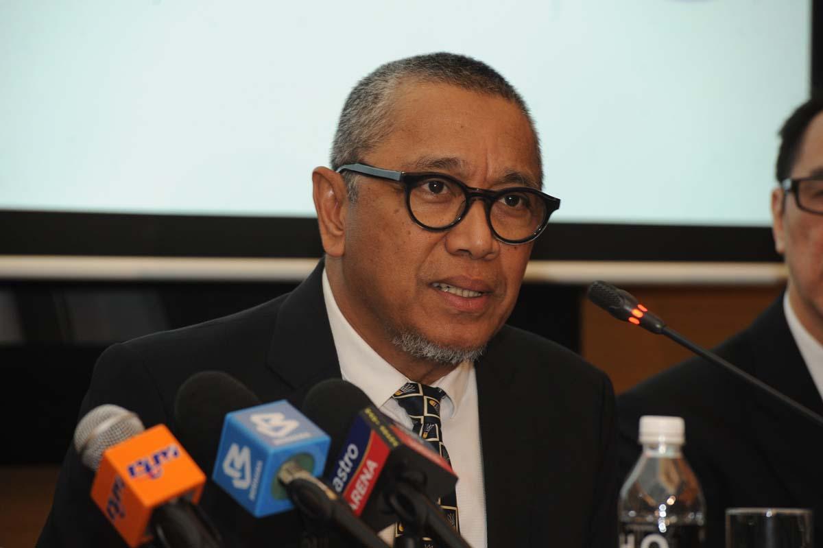 Tan Sri Mohamed Al-Amin Abdul Majid, Acting President Badminton Association of Malaysia