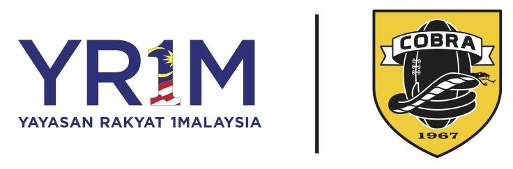 Yayasan Rakyat 1Malaysia and COBRA logo