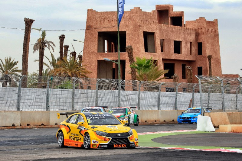 In today's two races at the Circuit Moulay el Hassan in Marrakech, Morocco the trio of Rosneft backed Lada Vesta TC1 cars showed a great turn of speed posting fastest laps in both of the day's events.