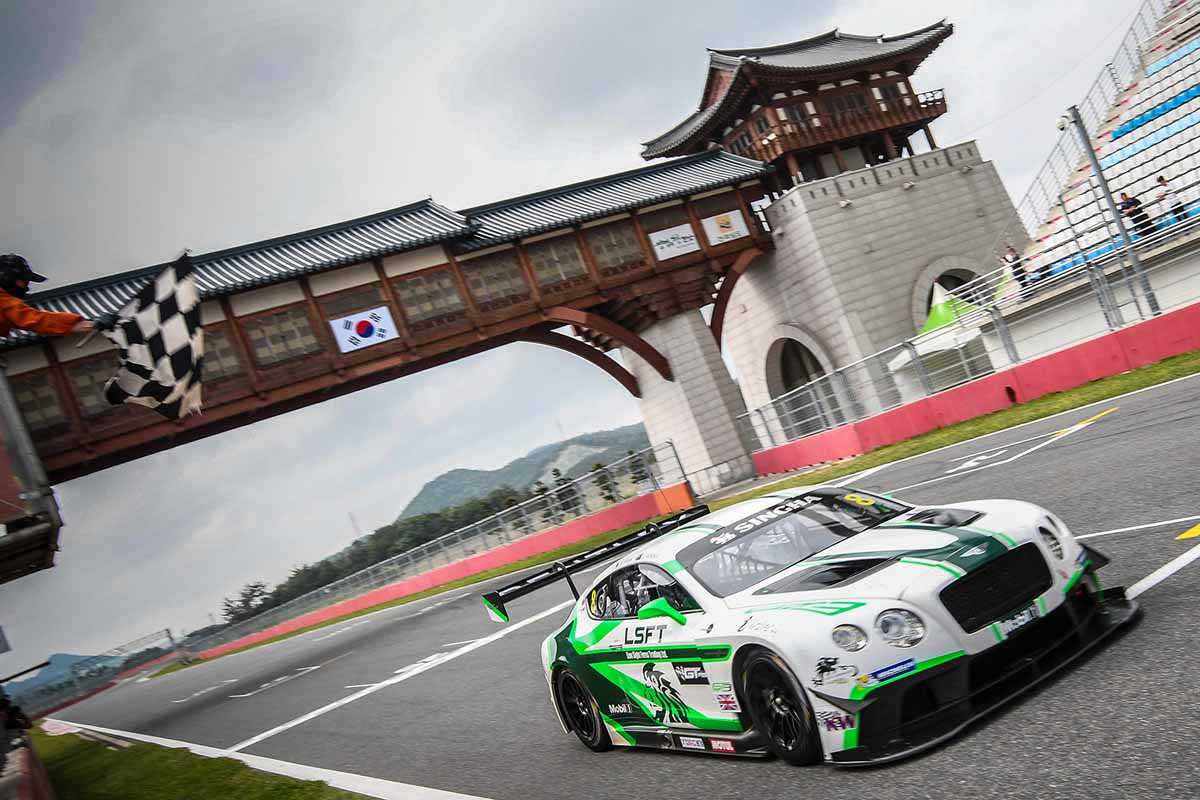 2016 GT Asia Series Korea International Circuit-South Korea Winner - Sawa/Venter (Absolute Racing Bentley Continental GT3)