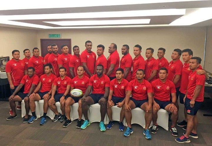 2016 Kejohanan Ragbi Asia - Pasukan Malaysia -001
