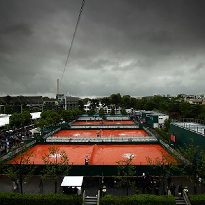 Roland-Garros-rain