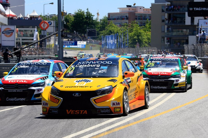 LADA SPORT ROSNEFT take another podium finish in the FIA WTCC Race of Portugal.