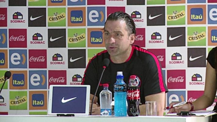 Chile coach Juan Antonio Pizzi