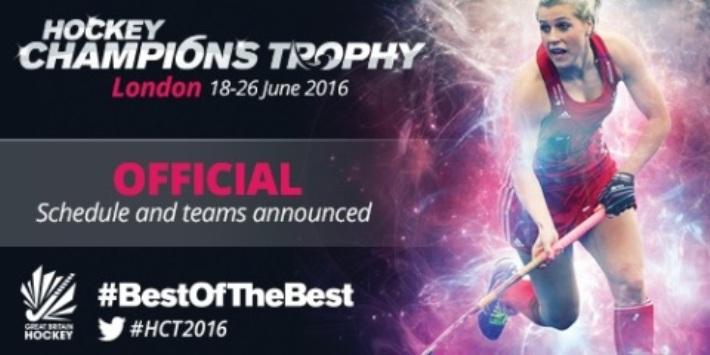 women's Hockey Champions Trophy 2016