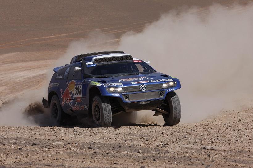 Giniel de Villiers, Dirk von Zitzewitz Volkswagen Race Touareg 3 Rallye Dakar 2011