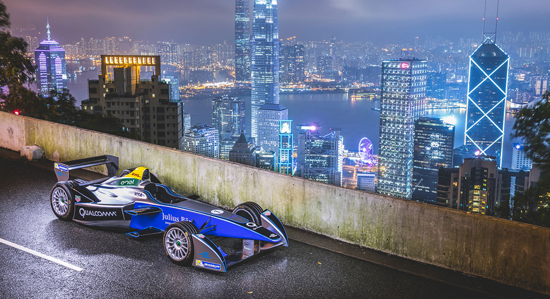 The FIA Formula E Championship, the world's first fully electric racing series, blasted off the grid in 2014 and is driving the future with its fusion of motorsport and entertainment.