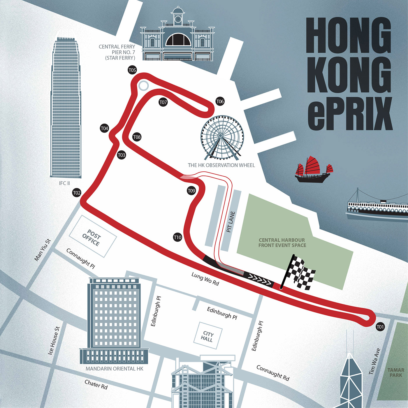 The action keeps charging up with non-qualifying and qualifying Formula E races all leading up to our featured event, the HKT Hong Kong ePrix.