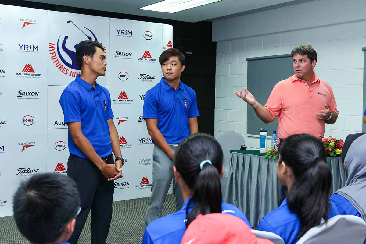 Shane, Naqiuddin and Paul give their views about college golf in US.