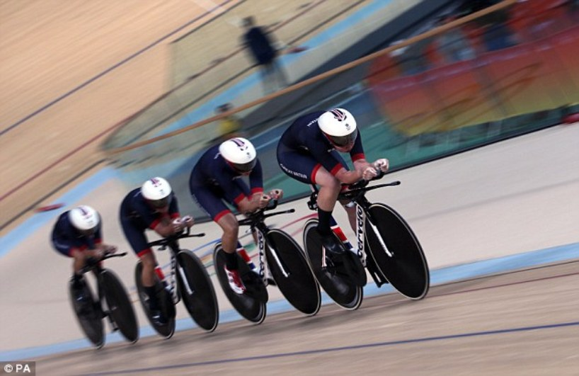 Britain's women's team pursuit