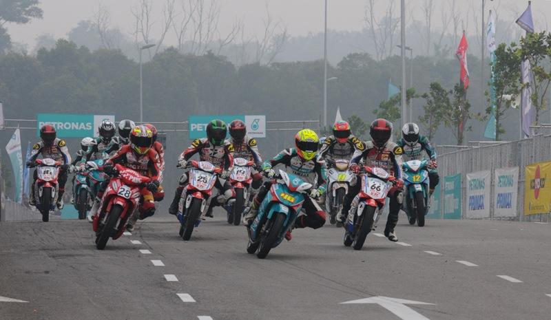 Masalah jerebu sewaktu perlumbaan Cub Prix di Selangor musim lepas