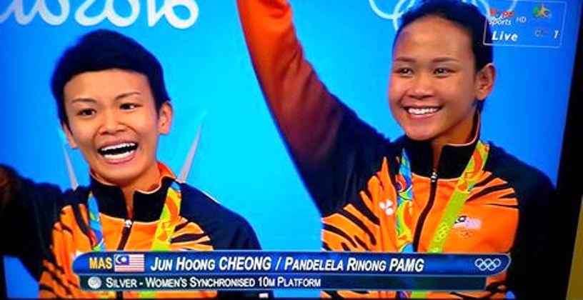 Pandalela Rinong dan Cheong Jun Hoong