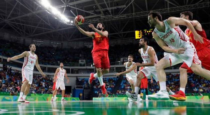 Rio.Basketball.Spain.Croatia