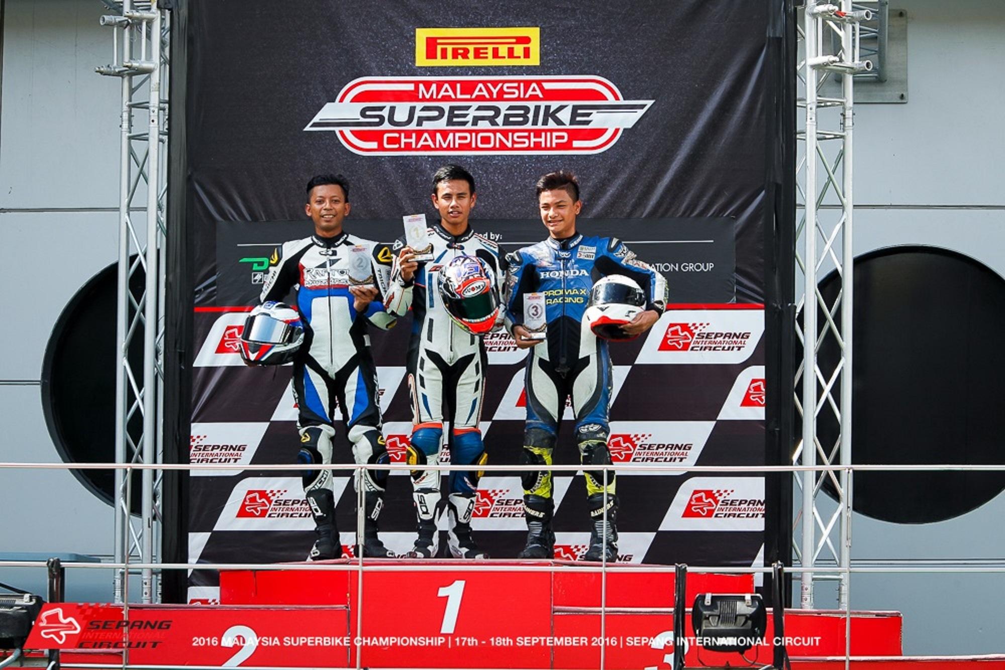 2016 Malaysia Superbike Championship (MSBK) - Open 250 Championship