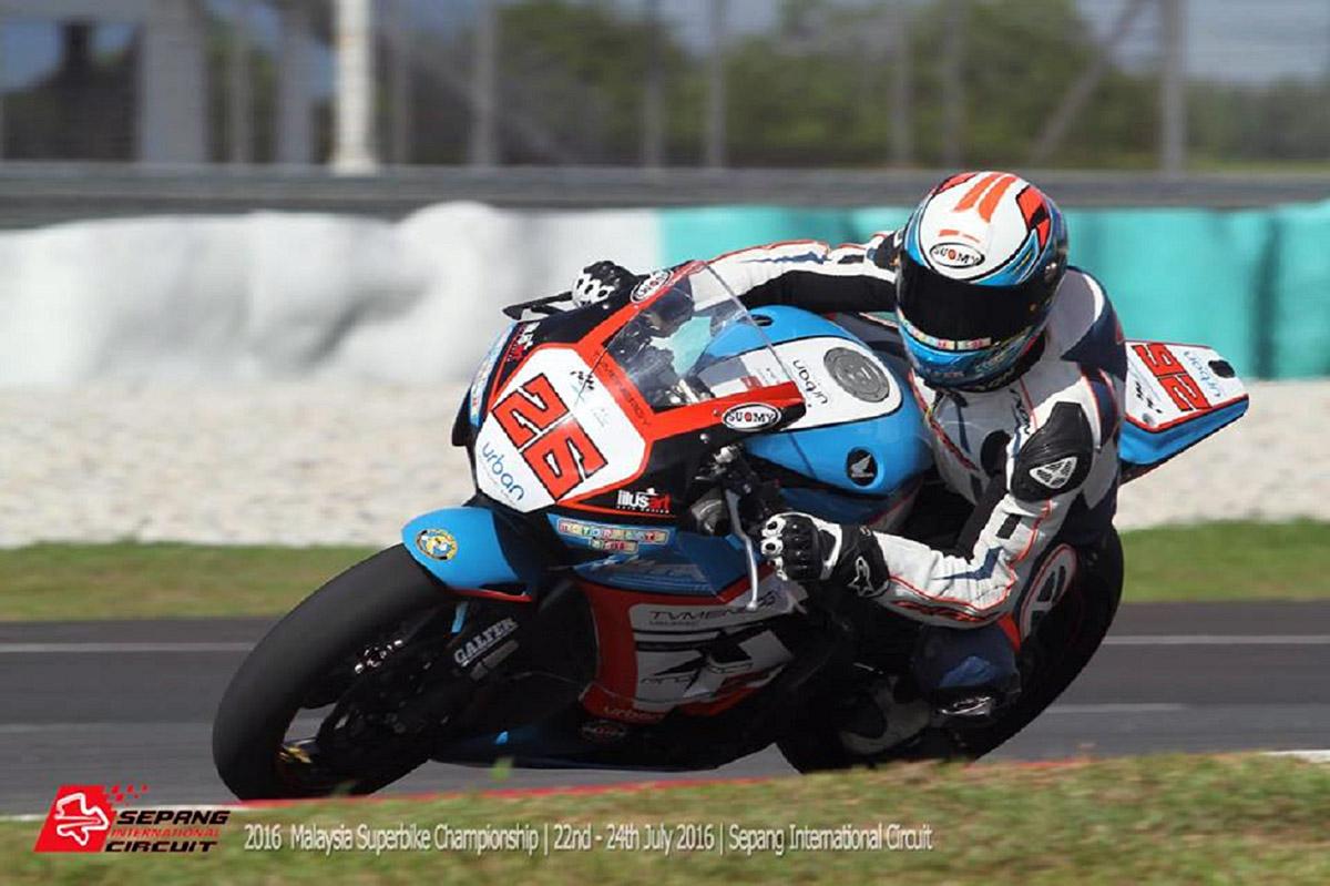 2016 Malaysia Superbike Championship (MSBK) - Race 3 - Ahmad Fuad Baharudin