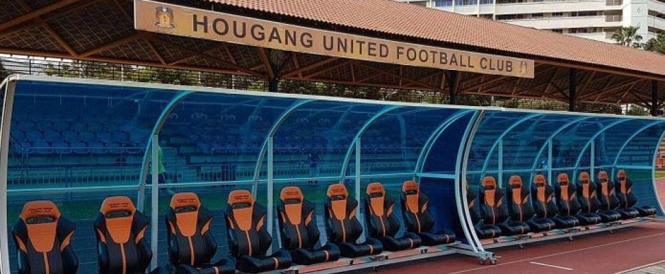 """""""Cinderella"""" club, Hougang United Football Club."""