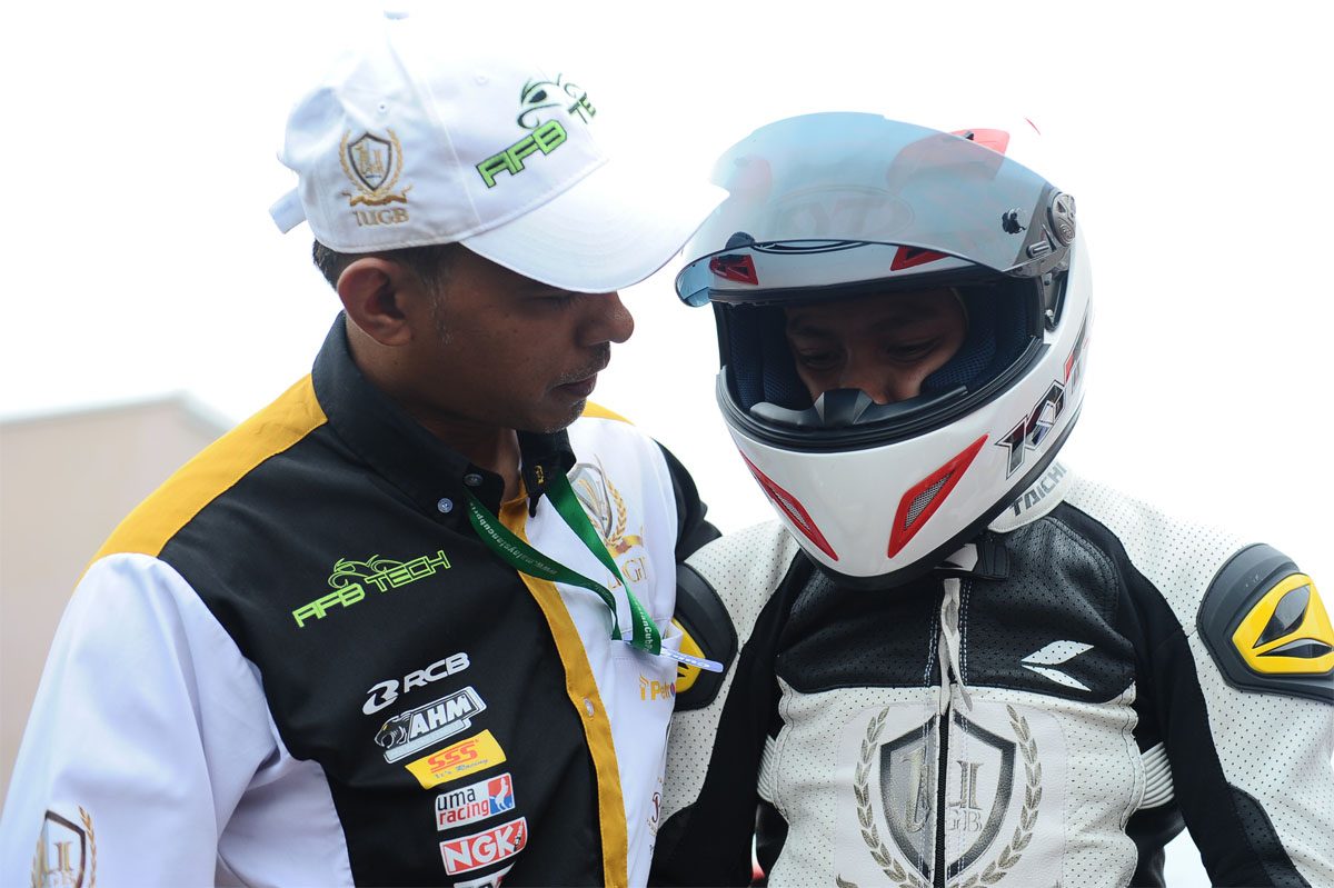 2016 PETRONAS AAM Malaysian Cub Prix Championship - Mohd Helmi Azman