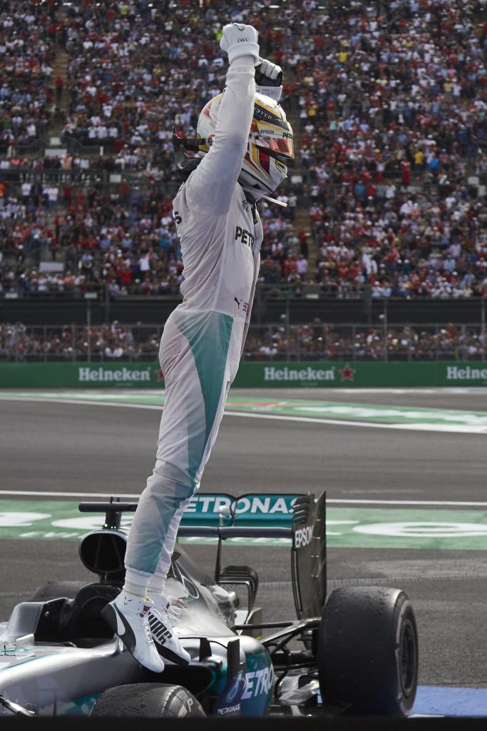 Formel 1 - MERCEDES AMG PETRONAS, Großer Preis von Mexiko 2016. Lewis Hamilton ; Formula One - MERCEDES AMG PETRONAS, Mexican GP 2016. Lewis Hamilton;