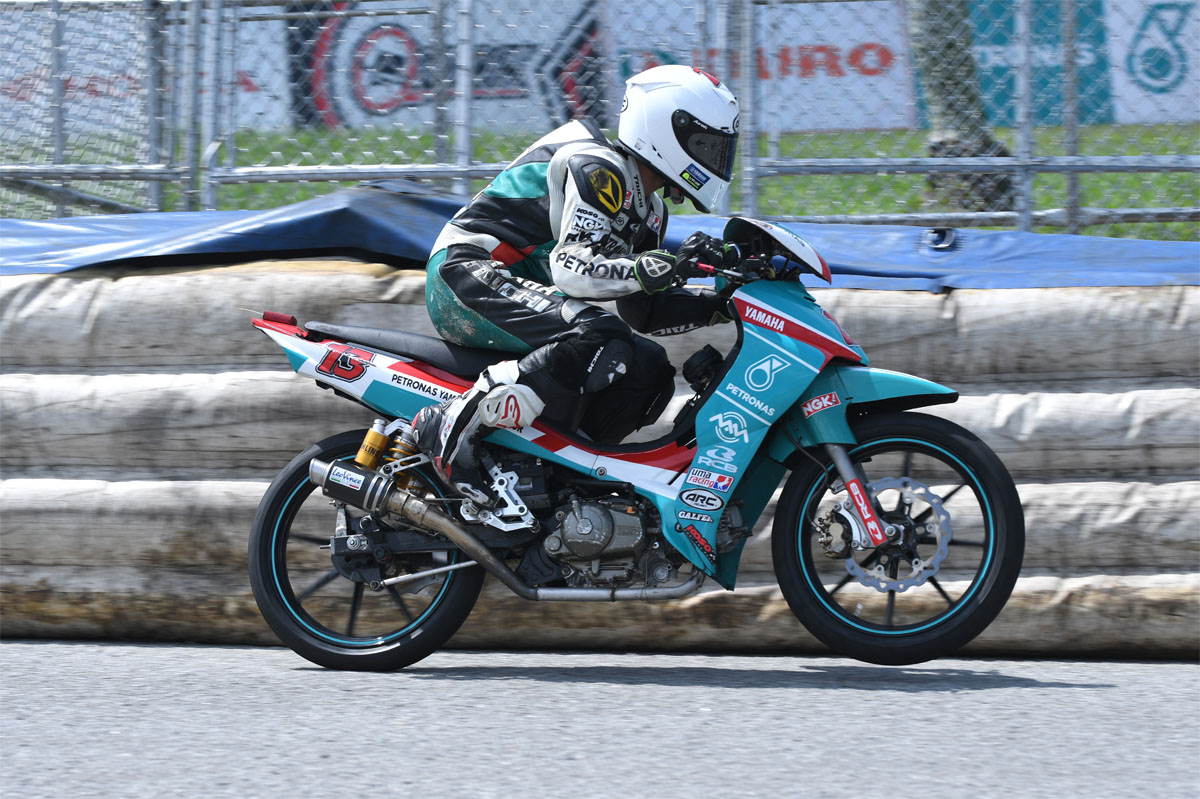 2016 PETRONAS AAM Malaysian Cub Prix Championship Final Round Taiping - Md Akid Aziz