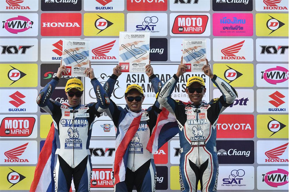 2016 FIM Asia Road Racing Championship Winner - SuperSports 600cc.