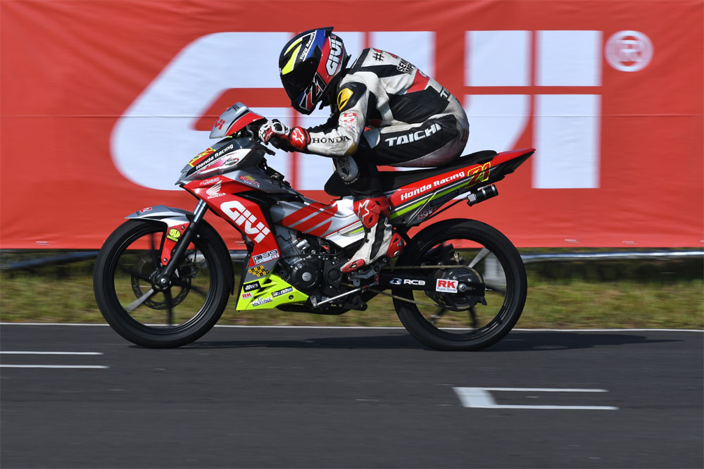 2017 Malaysian Cub Prix - Givi Honda Yuzy Racing - Mohd Zaqhwan Zaidi