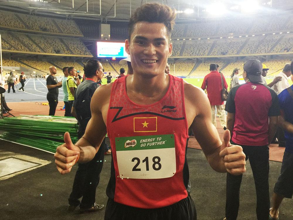Quach Chong Lich dari Vietnam ungguli di tempat pertama dengan catatan masa 00:00:51.03 dalam acara 400 meter berpagar di Kejohanan Olahraga Terbuka Malaysia 2017 yang telah berlansung di Stadium Nasional Bukit Jalil.