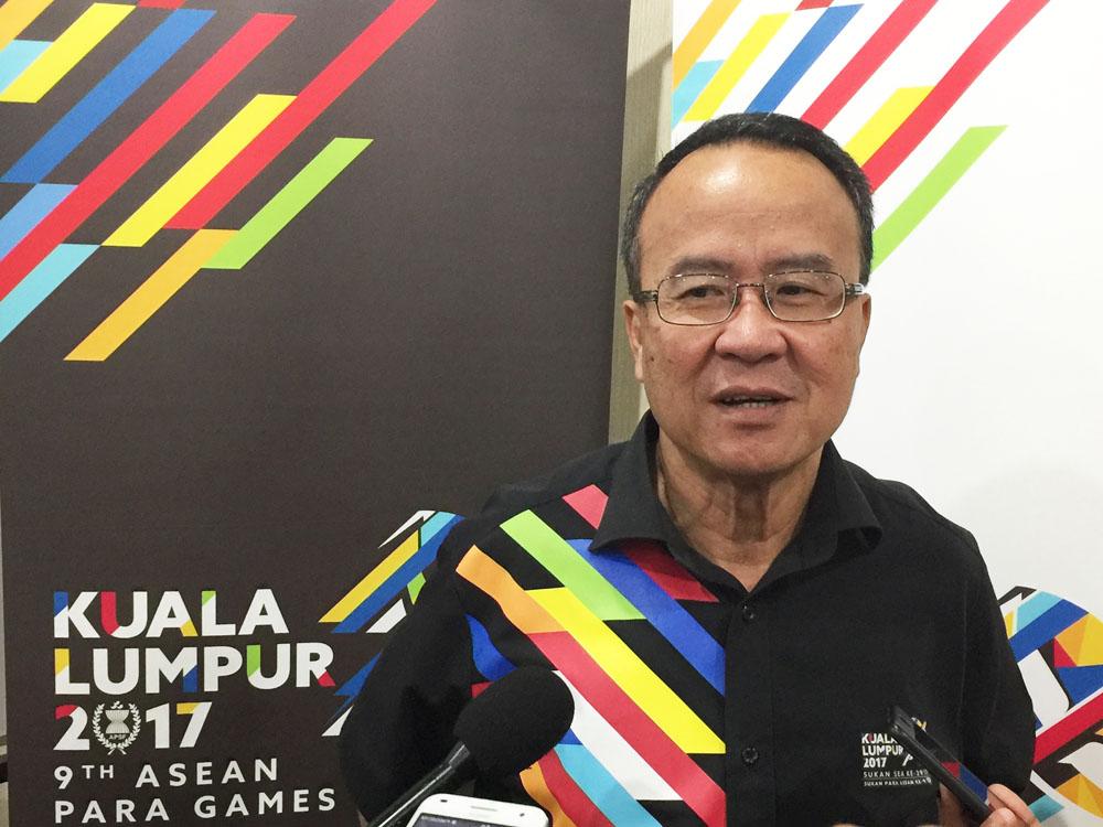 SEA Games Kuala Lumpur 2017 - Dato Seri Zolkples Bin Embong