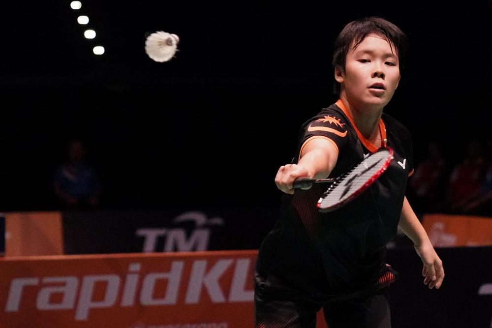 29th SEA Games KL2017 Badminton - Womens Single - Malaysia - Goh Jin Wei