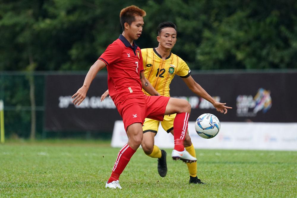 29th SEA Games KL2017 Football - Laos vs Brunei