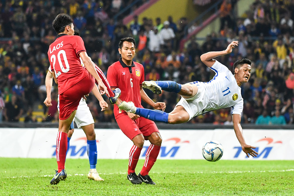 29th SEA Games KL2017 Men Football - Malaysia vs Laos
